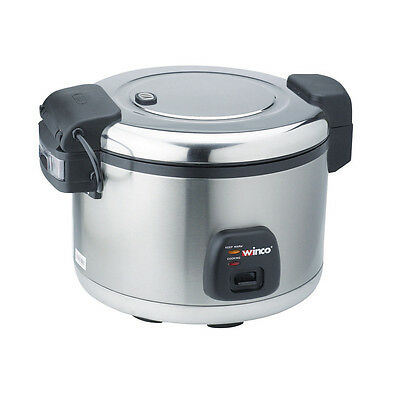 Winco RC-S300, 30-Cup Advanced Rice Cooker and Warmer, ETL, UL-197, NSF-4