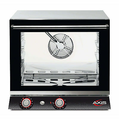 Axis AX-514, Convection Oven, Half Size Pan, 4 Shelves, ETL/CETL