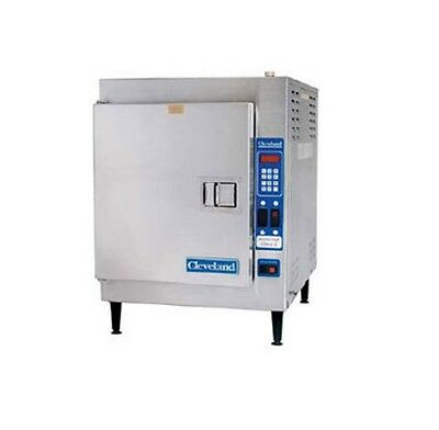 Cleveland 21CET16, 5-Pan Counter Electric Convection Steamer, SteamCraft Ultra 5