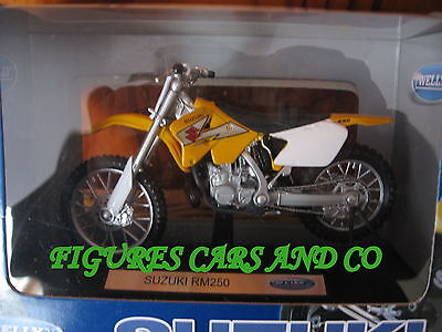 2000 Suzuki DR-Z 400 S Welly 12802 1:18 Die Cast Gelb
