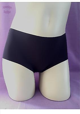 Ex Store CLARET lightweight shorts briefs knickers, low rise - quality NVPL