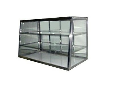 Carib 5T, 12x36-Inch Tapered Front Display Case