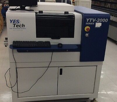 Yesech YTV-2050 Automated Optical Inspection Machine