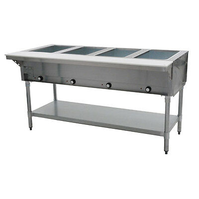 Eagle Group DHT4-208, 63.5-Inch 4-Well Electric Steam Table, NSF, CUL, KCL