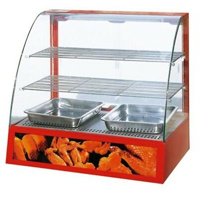 Omcan DH2P, Food Warmer, Display Case, CE