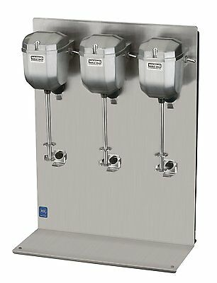 Waring DMC201DCA, Classic Triple-Spindle Drink Mixer