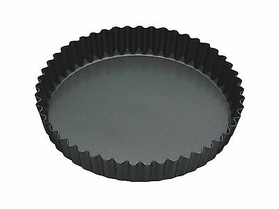 """Master Class Non-Stick Fluted Flan Tin / Quiche Pan with Loose Base 23 cm (9"""")"""