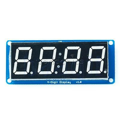 "0.56"" LED 4-Digit Tube Display (D4056A) Module with Decimal Point for Arduino"