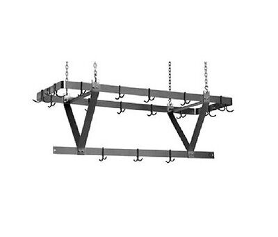 Eagle Group CM72APR, 64-Inch Aluminum Ceiling Mounted Rack