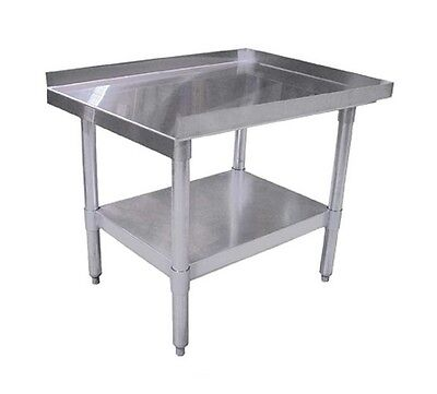 Omcan 22056, 30x18-Inch Equipment Stand with Galvanized Legs and Undershelf, NSF