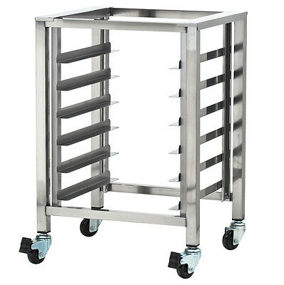 Moffat SK23, Turbofan Oven Stand with Pan Slides and Casters, NSF, for Turbofan