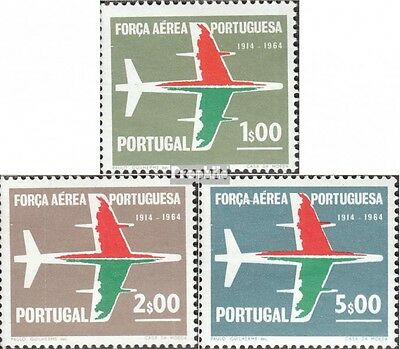 Portugal 993-995 fine used / cancelled 1965 portuguese air force