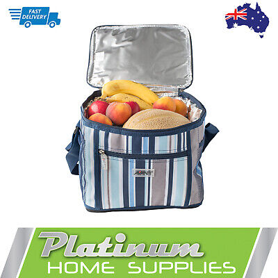 New Picnic Cooler Bag Basket 24 Can Lunch Wine Insulated Thermal Box Chiller