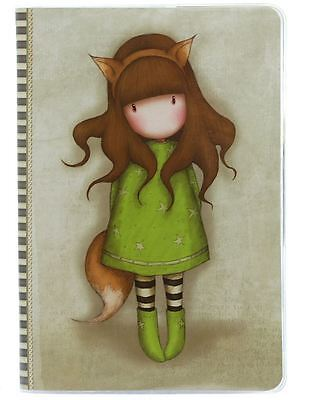 Santoro Gorjuss A5 Stitched Notebook with Cover - The Fox
