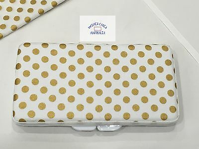 Mini Gold Dots Baby Wipes Case - Perfect Gift For Baby Shower