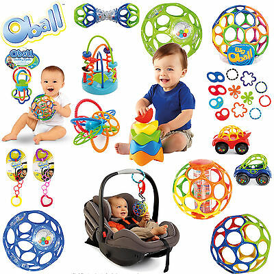 Oball Shaker Beißring Go Grippers Rassel Linky Flexi Loops O-Link wähle 1 St.: