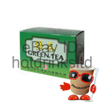 Chinese Green Tea, 100 x Enveloped Bags, Weight Loss, Diet *BUY 2+ GET 10% OFF*