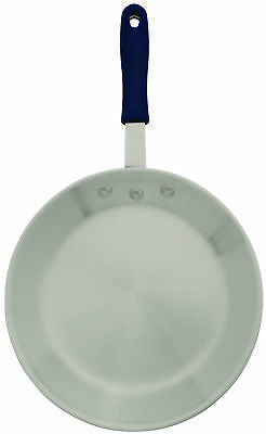 Winco AFPI-7H, 7-Inch Aluminum Induction Ready Fry Pan with Silicone Sleeve, NSF