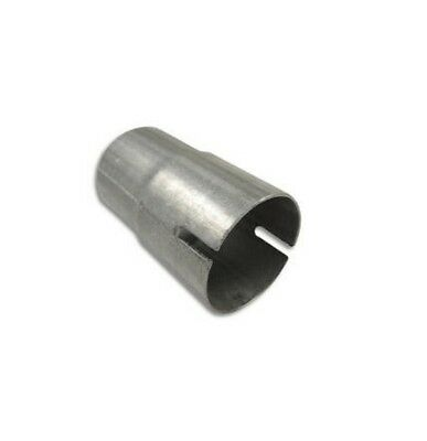 Exhaust Pipe Reducer 2 Stage Connector Repair Muffler Tube Adapter Sleeve Joiner