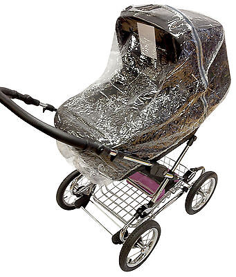 Raincover Compatible with Silver Cross Sleepover Pram