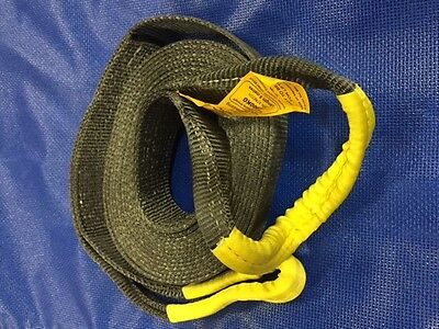 TSKINECTIC Kinetic energy recovery snatch/tow strap 60mm x 8000kgs BFmin 9m OAL