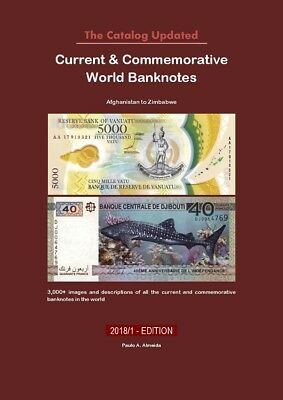 2017 Current & Commemoratives World Banknotes Catalog