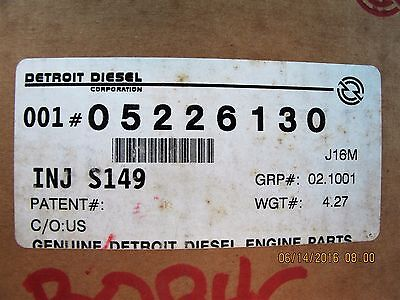 5226130 Detroit Diesel Fuel Injector   149 Series Engine NEW IN BOX [C5S3]