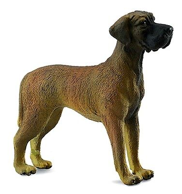 New CollectA Great Dane Dog Toy Figure 88062 -  FREE UK DELIVERY !