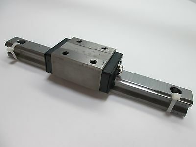 "THK HSR30 Linear Rail and Bearing, 11"" Long Rail, Bearing is Tapped M8"