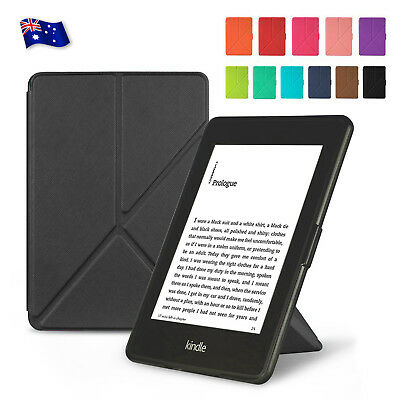 Premium Flip Folio Smart Cover Case Stand for Kindle Paperwhite 1 2 3