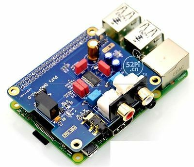 raspberry pi B+/2B HIFI DAC + Sound Card I2S Interface Special