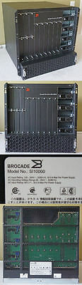 Brocade Serveriron Adx 10000 Chassis Load Balancing Device Si10000 Si-10K New