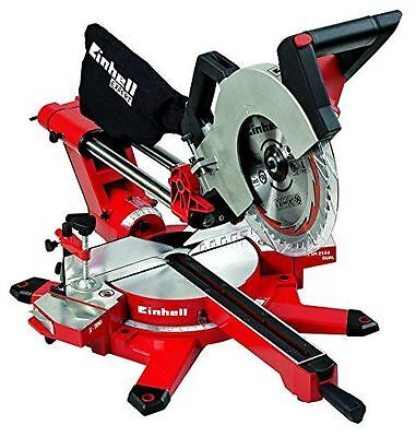 Einhell TE-SM 2534 Dual Scie à onglet Radiale [Rouge] - Fonction radial NEUF