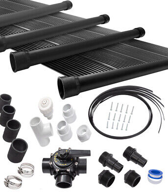 4-2X10' SunQuest Solar Swimming Pool Heater Complete System with Roof Kits