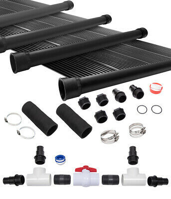 8-2'X12' SunQuest Solar Swimming Pool Heater System with Diverter Kit
