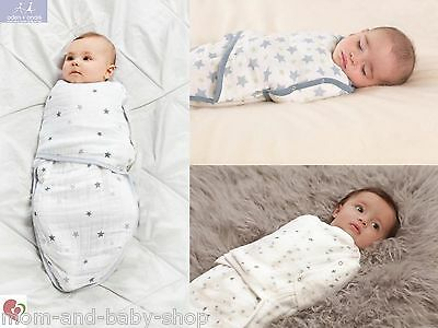 Aden + Anais Classic Easy Swaddle Blanket Swaddling Layered Muslin Breathable