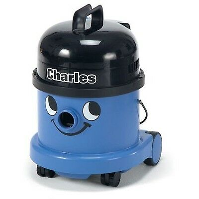 Numatic CVC370-2BL/BK  Charles Wet and Dry Bagged Vacuum Cleaner Blue