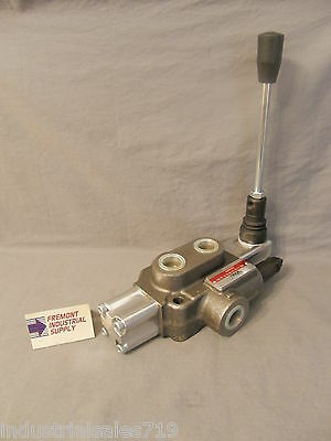 Hydraulic directional control valve 1 spool float center spring centered 16 GPM