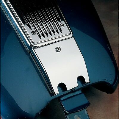 Chrome Lower Dash Panel Extension for Harley Touring