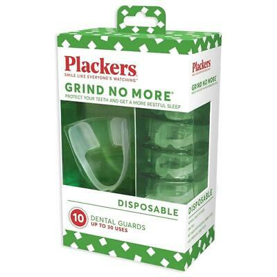 Plackers Grind No More Dental Night Mouth Guard Protector for Bruxism Grinding