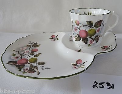 HAMMERSLEY Apple Blossom and Fruit Tennis  SNACK SET Cup and Plate