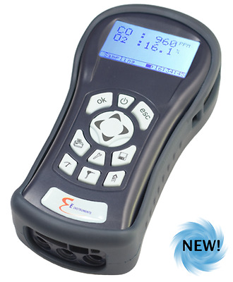 E-Instruments F900 Forklift & Small Engine Exhaust Gas Analyser