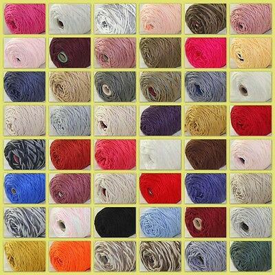 Sale New 1 Cone x400gr Soft Worsted Cotton Chunky Super Bulky Hand Knitting Yarn