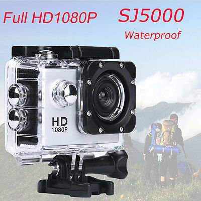 "2.0"" SJ5000 Full HD 1080P Sports Recorder Car Waterproof Action Camera Camcorder"