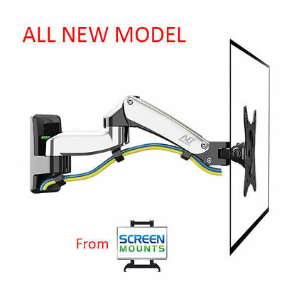 NEW F150—Full Motion Gas-strut Desktop FlexiMount Bracket TV Stand/Monitor Stand