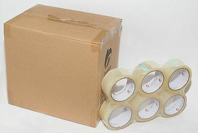 """36 Rolls Clear Carton Sealing Packing Tape 2mil, 2"""" x 77 Yards"""