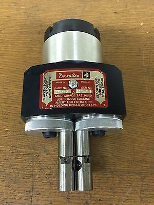 New Desoutter 204183 Twin Spindle Adjustable Drilling Head