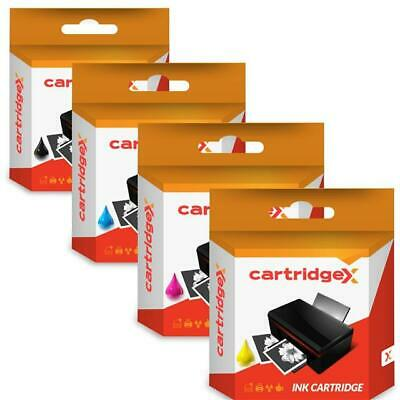 Full Set of 4 Compatible Ink Cartridges for Epson Stylus CX4300 D120 D5050 D78