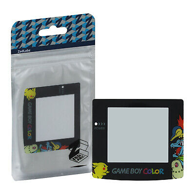 Screen lens for GameBoy Color GBC Chikoritafor Totodile Cyndaquil Colour ZedLabz