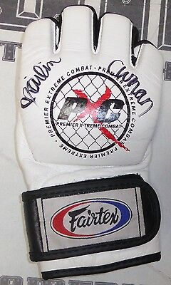 Kailin Curran Signed Official PXC Fight Glove PSA/DNA COA UFC Night 80 Autograph